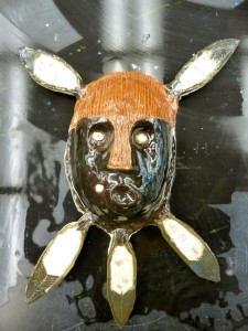 Seward High Art: Ceramic Masks