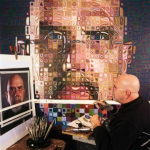 Seward High Art: Grid Enlargement Portraits