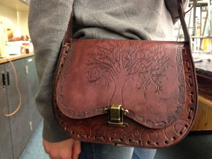 Seward High Art: Leatherwork