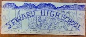 Seward High Mural