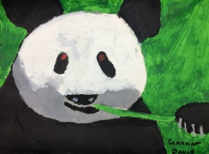 Middle School Animal Paintings