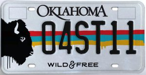 bison-license-plate-clover-1